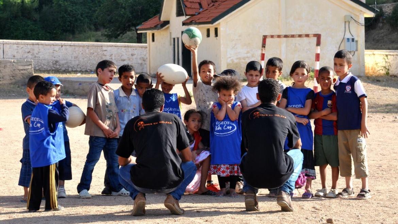 rugby et éducation afrique