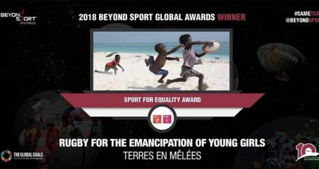 photo récompenses beyond sport Terres en mélées