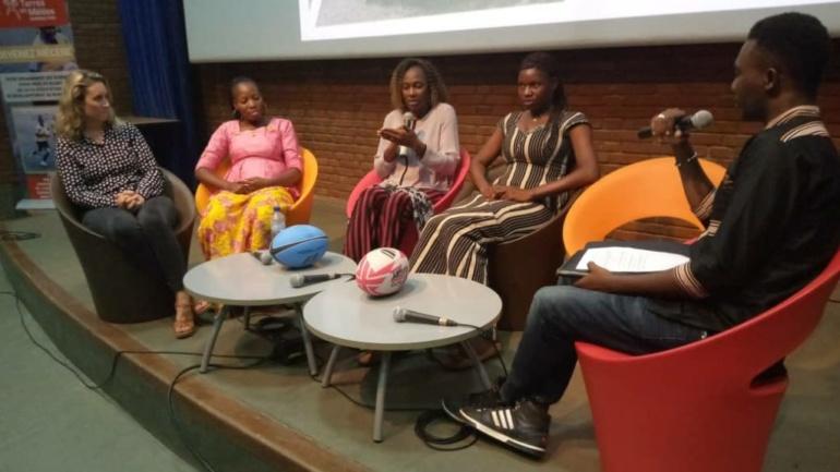 Nuit du Rugby au Féminin à l'Institut Français de Ouagadougou